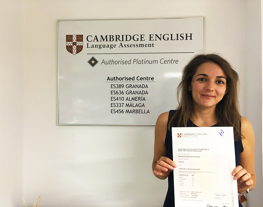 Los Certificados Oficiales de Cambridge English no caducan